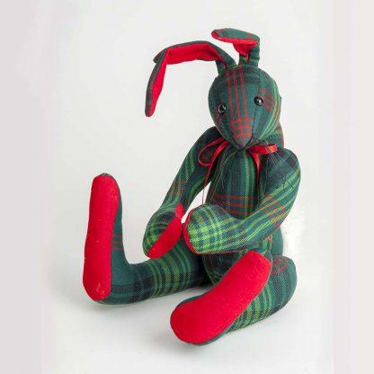 Tartan Toy Rabbit
