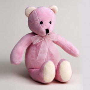 Pink Plushie Bear