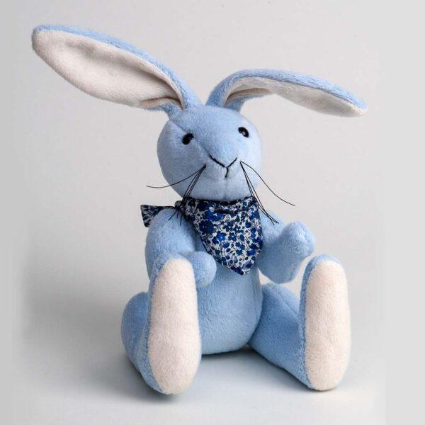 Blue Bunny with Bandana