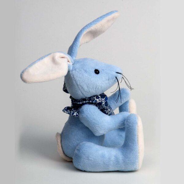 Blue Rabbit Toy