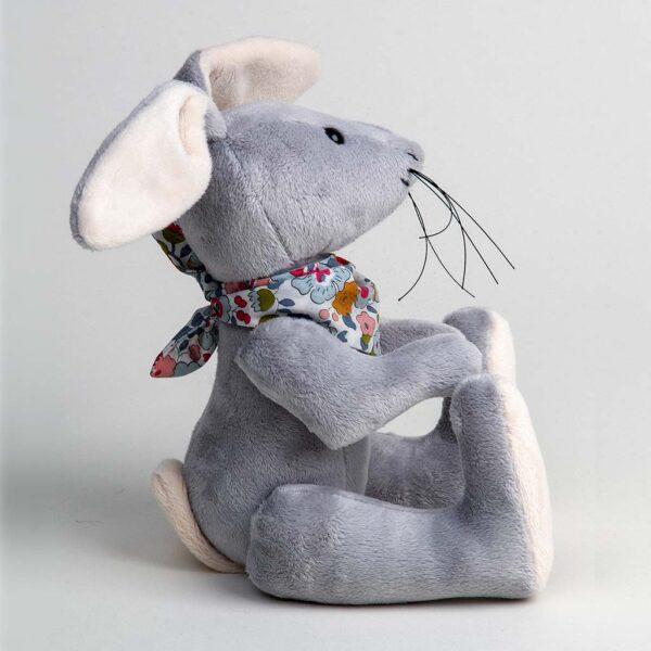 Grey Rabbit Soft Toy Plushie