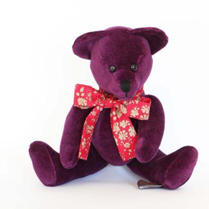 Cranberry Soft Teddy