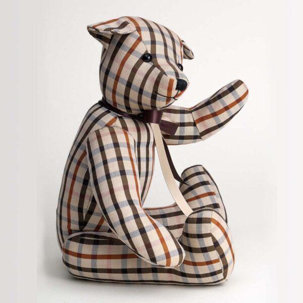 Checked Teddy Bear