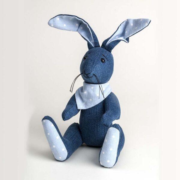 Denim Blue Bunny