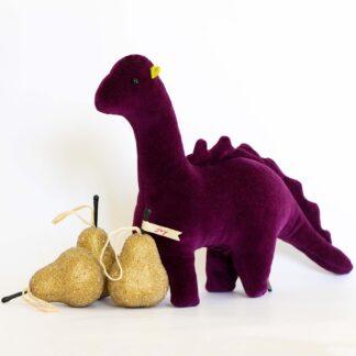 Dinosaur Velvet Soft Filled