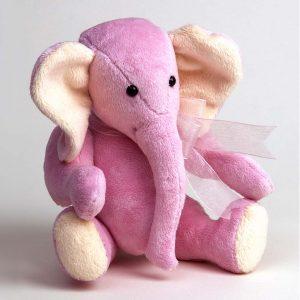 Pink Elephant Toy