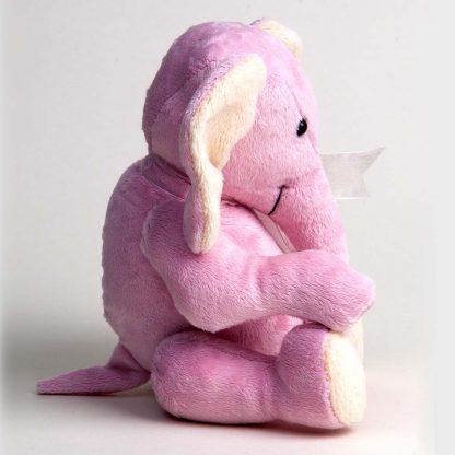 Pink Plushie Elephant