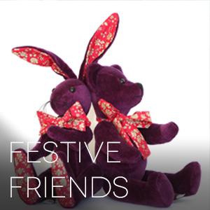 Festive Friends Plushies and Handmade Bears