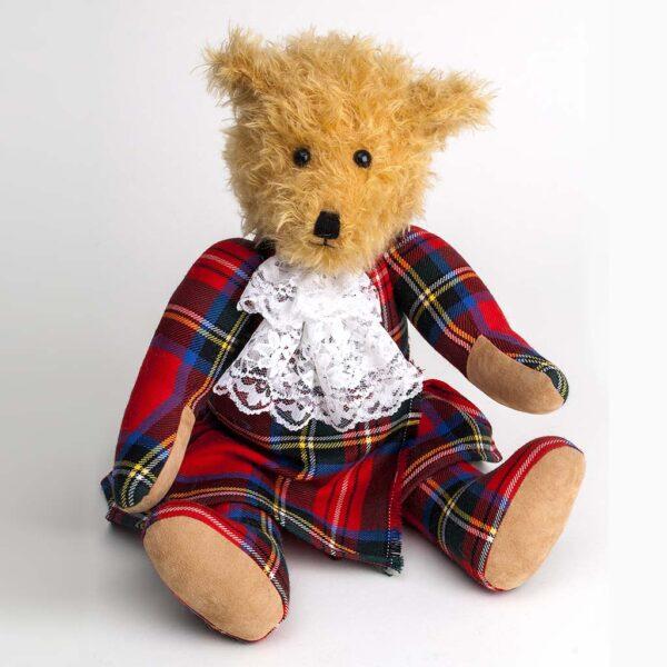 Tartan Scottish Bear in the shop