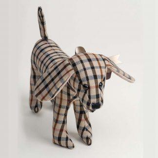 Toy Tartan Dog