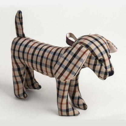 Tartan Dog Toy