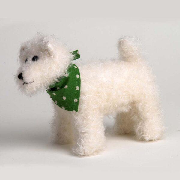 Snowy Dog Toy