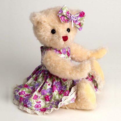 Sweetpea jointed mohair teddy bear